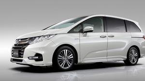 Honda Odyssey 2018 (facelift) รุ่นปรับโฉม เตรียมเปิดตัวที่งาน Tokyo Motor Show 2017
