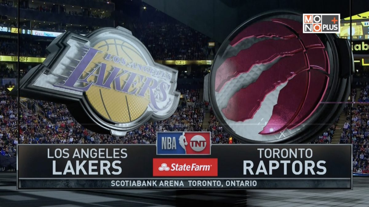 [Highlight] Los Angeles Lakers VS. Toronto Raptors