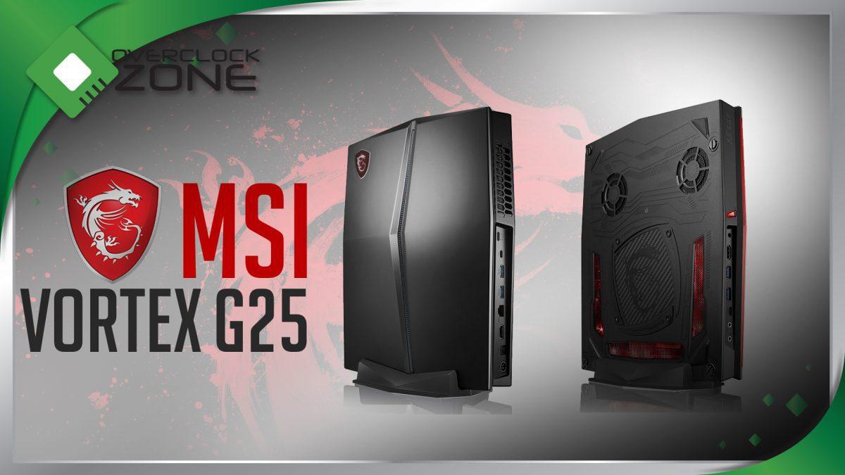 รีวิว MSI Vortex G25 : Mini PC สเป็คเทพ สำหรับเล่น 4K / VR