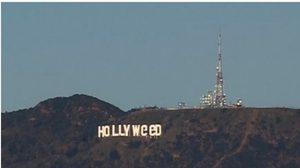 ตะลึง! ป้าย Hollywood บนเขาเมาท์ลี ออสแองเจลิส  ถูกมือดีเปลี่ยนเป็น Hollyweed