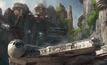 ดิสนีย์แลนด์ ส่งคอนเซปอาร์ตเครื่องเล่น Star Wars ชุดใหม่