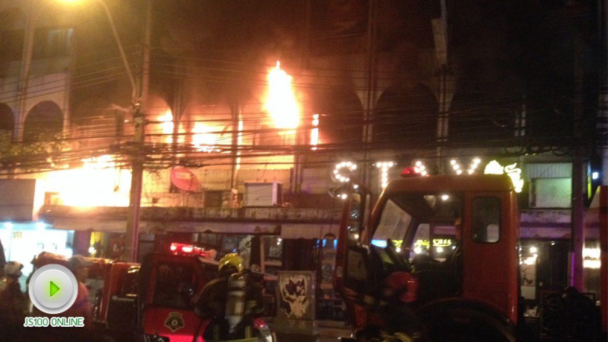 เมื่อเวลา 20:27 ไฟไหม้ร้านอาหาร เอกมัยซอย8 (07-12-60)