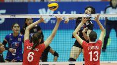 ผลวอลเลย์บอล : พลาดไปนิดเดียว! ทีมตบสาวไทย พลิกพ่าย รัสเซีย 2-3 เซต ศึกลูกยางโลก