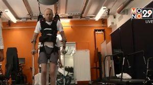 อุปกรณ์กระตุ้นไฟฟ้าช่วยผู้ป่วยอัมพาตเดินได้อีกครั้ง