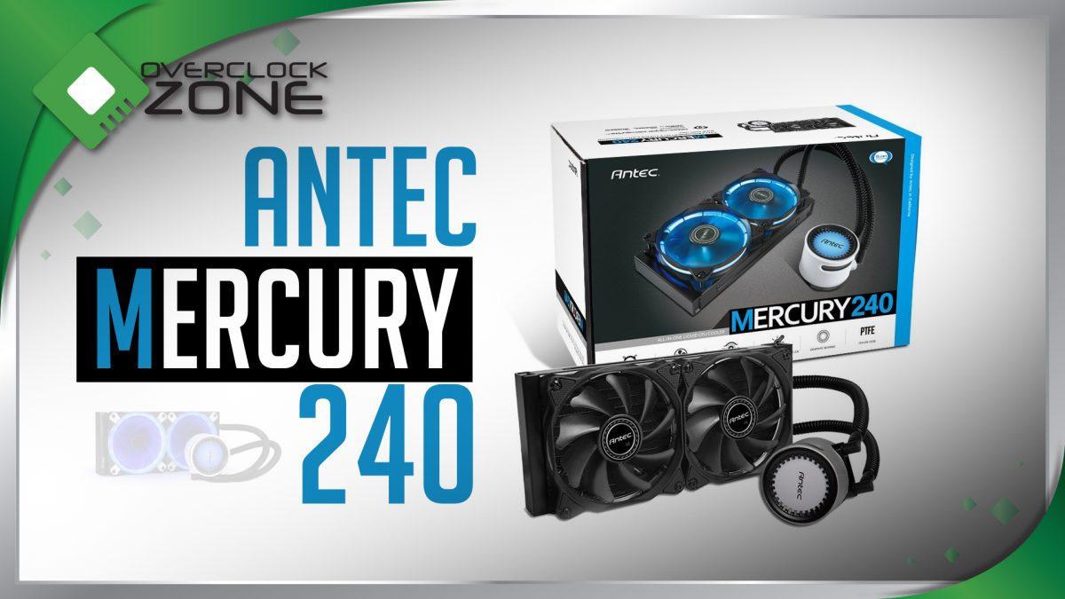รีวิว Antec Mercury 240 : Water Cooling Kit พร้อม LED บอกอุณหภูมิน้ำ