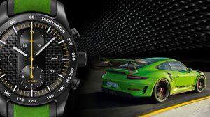Chronograph GT3 RS นาฬิกาสำหรับผู้เป็นเจ้าของ รถ Porsche T3 RS เท่านั้น