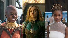 สองสาวจากหนัง Black Panther ทวีตข้อความชื่นชอบหนัง Captain Marvel