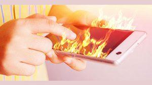 วิธีป้องกันสมาร์ทโฟนระเบิดจากอากาศโคตรร้อนในเมืองไทย