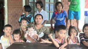 แม่ชาวตรัง โร่ร้องขอความช่วยเหลือ หลังมีลูกดก รายได้ไม่พอรายจ่าย