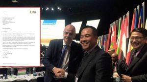ส.บอลคอนเฟิร์ม! ปธ.ฟีฟ่าตอบรับหนังสือเยือนไทยร่วมฉลอง 100 ปี