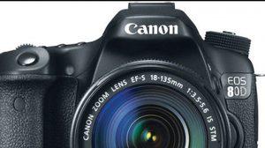 สเปคหลุด Canon 80D มาพร้อมเซนเซอร์ 28ล้านพิกเซล