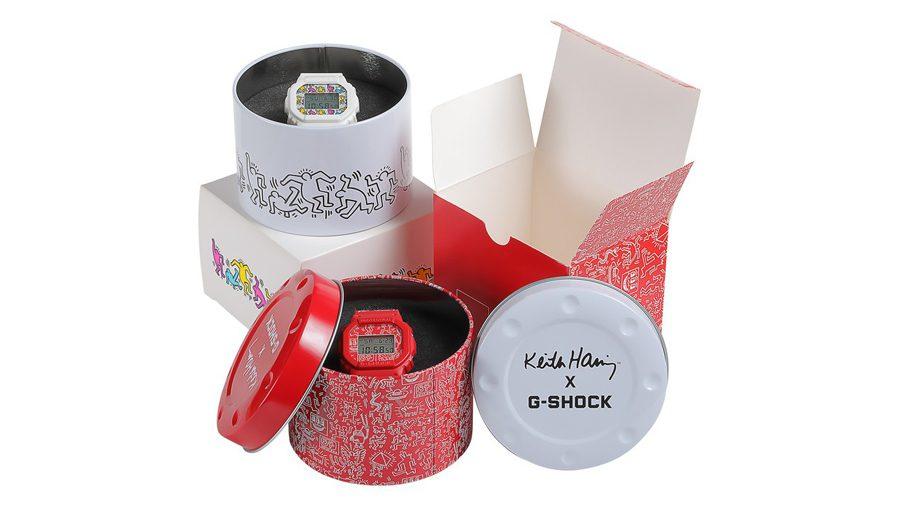G-SHOCK รุ่นล่าสุด DW-5600 แรงบันดาลใจจากผลงานศิลปะป๊อปอาร์ตสุดคลาสสิคของ Keith Haring