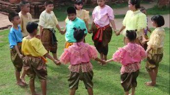 เสือกินวัว - การเล่นของเด็กไทยภาคกลาง