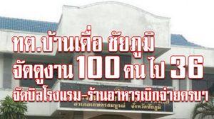 แฉ!! ทต.บ้านเดื่อจัดดูงาน100 คน ไป 36 แต่เบิกจ่ายครบจำนวน