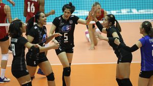 ผลวอลเลย์บอล : น่าประทับใจ! ทีมตบสาวไทย สู้เต็มที่ก่อนพ่าย สหรัฐฯ สูสี 2-3 เซต