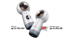 Samsung เปิดตัวกล้อง Gear 360 ใหม่ ถ่ายภาพ 360 องศา 15 ล้านพิกเซล วิดีโอ 4K