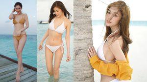 เซ็กซี่สะเทือนไปทั้งเกาะ!! จา จารุนันท์ ไปอวดหุ่นสวยๆ กับทริปพักร้อนที่มัลดีฟส์