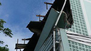 สั่งปิดอาคาร ร.ร.ปทุมวิไล หลังถูกพายุพัดถล่มพังเสียหาย