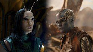เพื่อนสนิทคนใหม่ใช่ไหม!? คาเรน กิลแลน ถ่ายเซลฟีถือหัว(โมเดล) แมนทิส ก่อนถ่าย Avengers 4