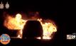 ทันตแพทย์สาวหนีตาย ไฟไหม้รถเก๋งวอดทั้งคัน