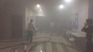 ไฟไหม้อาคารประกันสังคม กระทรวงแรงงาน เพลิงสงบแล้ว