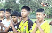 เปิดคลินิกสอนฟุตบอลให้กับทีมหมูป่าอะคาเดมี่