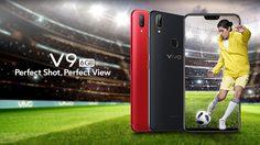 Vivo ปล่อย Vivo V9 อัพพลังใหม่ มาพร้อม RAM 6 GB ใช้ชิป Snapdragon 660
