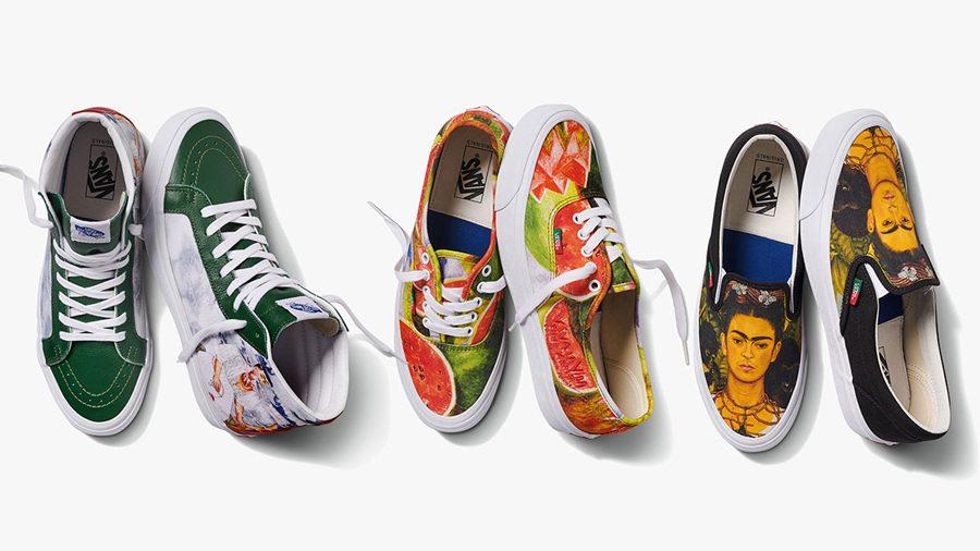 Vans Vault สดุดี Frida Kahlo ศิลปินชาวเม็กซิโกในคอลเล็กชั่นรองเท้าระดับพรีเมี่ยม