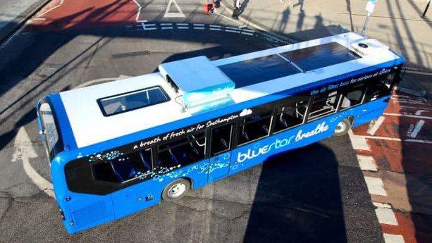 ผอ. ขสมก. ยืนยันเครื่องฟอกอากาศบนหลังคารถเมล์ใช้งานได้จริง ไม่ใช่เรื่องลวงโลก!