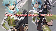 สุดแร์ ฟิกเกอร์ Kotobukiya 1/8 Sinon -Phantom Bullet- จาก SAO