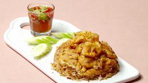 สูตร ข้าวผัดน้ำพริกนรกไข่เจียว ฟินได้ในราคาถูก