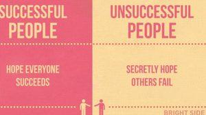 15 ความแตกต่างระหว่าง คนที่ประสบความสำเร็จในชีวิตและคนที่ล้มเหลว!