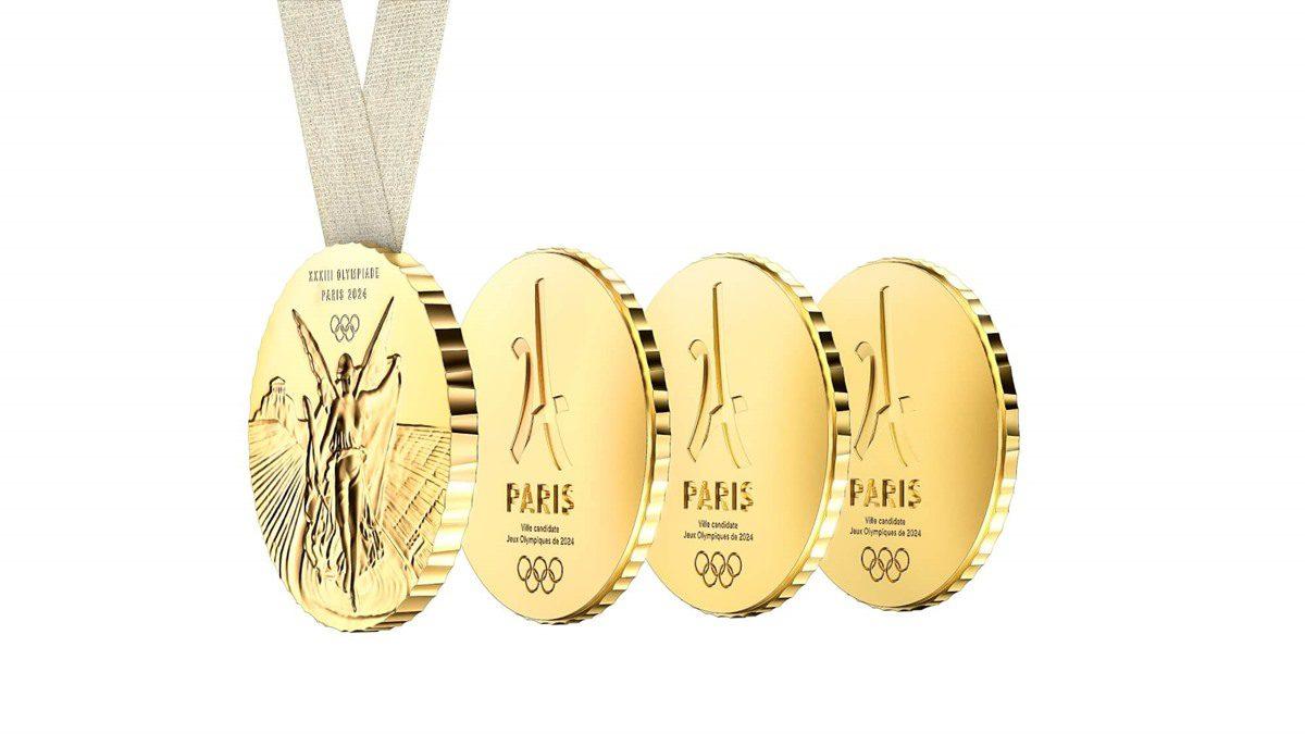 เหรียญเพื่อการแบ่งปัน ปารีสเกมส์ 2024 โชว์ดีไซน์ เหรียญโอลิมปิก โดย Philippe Starck
