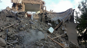 13 photos that show destruction caused by the South Asia earthquake
