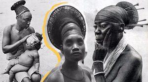 ชนเผ่าหัวสูง แห่งคองโก 'Mangbetu'