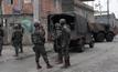 บราซิลนำกำลังลาดตระเวนชุมชนแออัด 6 แห่ง