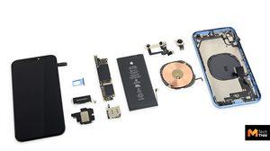 สื่อนอก ชำแหละ iPhone XR พบว่ามาพร้อมแบตชิ้นเดียวขนาดใหญ่