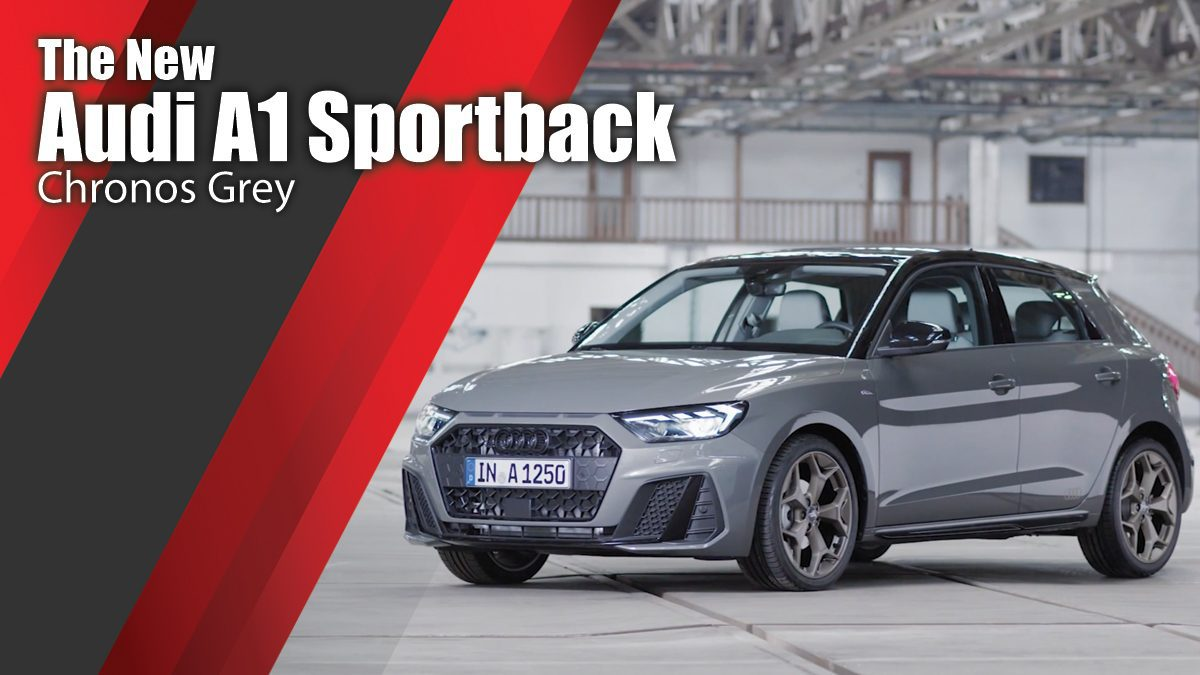 The new Audi A1 Sportback - Chronos Grey