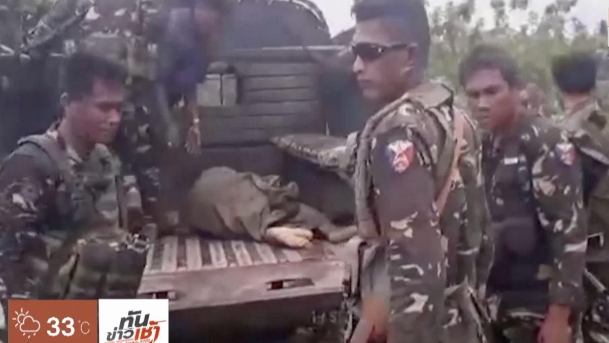 IS อ้างอยู่เบื้องหลังเหตุระเบิดภาคใต้ฟิลิปปินส์