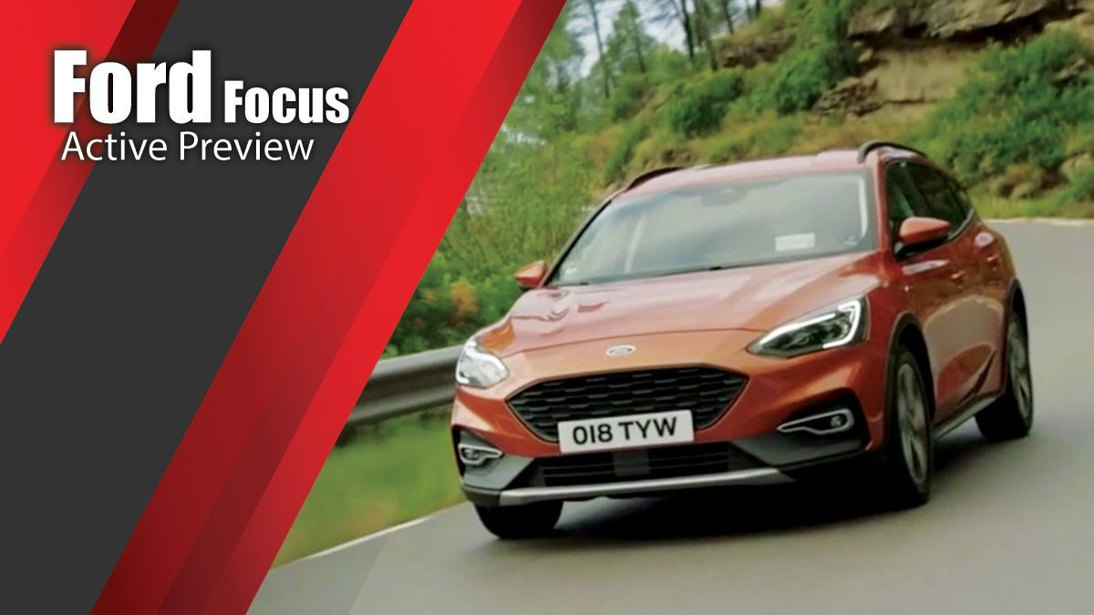 The new Ford Focus - Active Preview