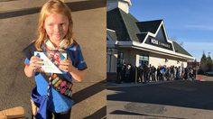 ตรงสาย!! หนูน้อยวัย 9 ขวบ เดินขายคุกกี้ ที่หน้าร้าน กัญชา ในประเทศแคนาดา