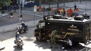 ริโอเกมส์ป่วน ระเบิดจุดเข้าเส้นชัยแข่งจักรยาน โอลิมปิก2016