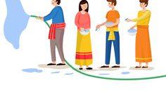 ความเชื่อและกิจกรรมในวันสงกรานต์ วันปีใหม่ไทย