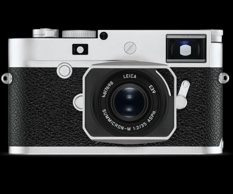Leica M10-P สีเงิน