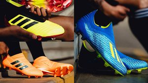 adidas เปิดตัวรองเท้าฟุตบอลคอลเลคชั่น Energy Mode ต้อนรับฟุตบอลโลก 2018