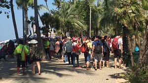 นักท่องเที่ยว 1.5 แสนคน แห่พักผ่อนปีใหม่ทั่วชลบุรี คาดเงินสะพัด 500 ล้าน