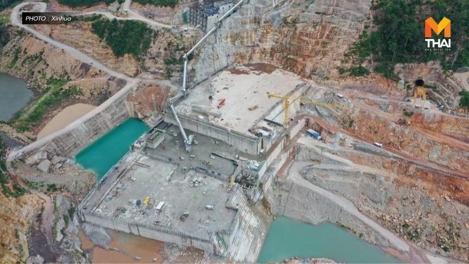 ลาวจ่อสร้าง 'โซลาร์ฟาร์มลอยน้ำระบบไฮบริด' ใหญ่สุดในโลก