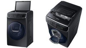 Samsung FlexWash ความลงตัวของสุนทรียะแห่งดีไซน์และนวัตกรรมการซักผ้าฝาหน้าและฝาบน