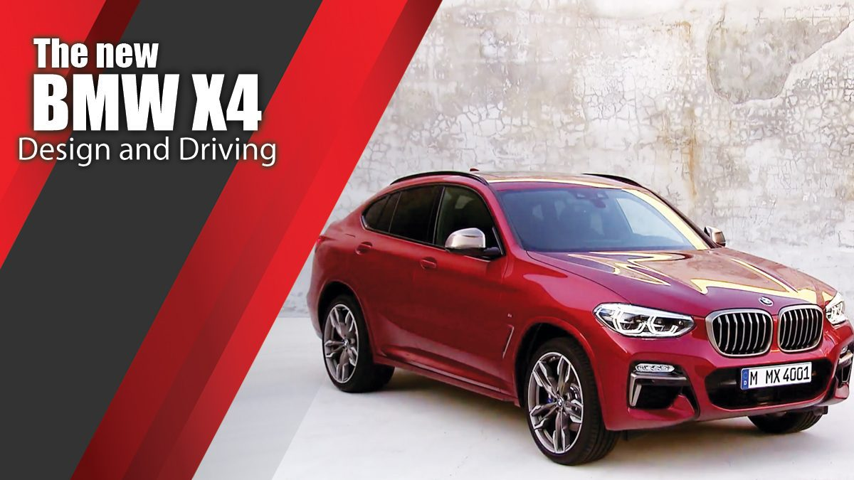 The new BMW X4 - Design and Driving Video