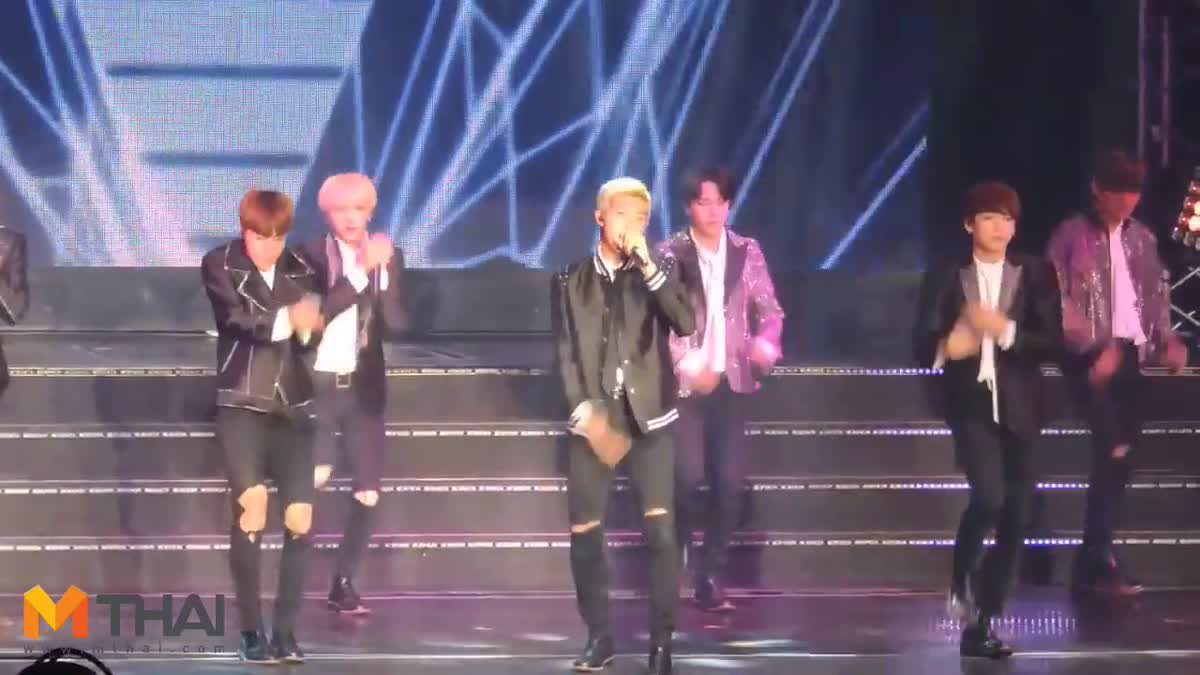 แฟนคลับไทยทะลัก! ล้นคอนเสิร์ตบอยแบนด์เกาหลี BTS
